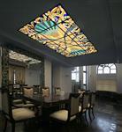 北京艺术花窗挂件