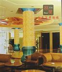 热熔玻璃叠烧玻璃酒店、夜场、办公楼建筑装修