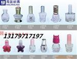 各种【梅花形玻璃指甲油瓶】+瓶盖