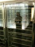 酒柜电加温玻璃