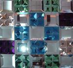 晶莹的艺术拼镜