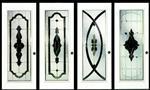 镶嵌玻璃系列-黑条