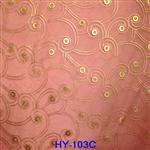 HY-103 美瞳建筑装饰家具千亿国际966绢丝布材料