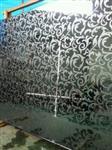 镜花和丝印玻璃