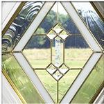 铜条玻璃/移门镶嵌玻璃