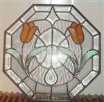 移门镶嵌玻璃/铁艺中空玻璃