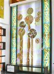 龙祥艺术玻璃酒店背景墙