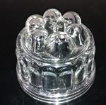 圆形耐热玻璃果冻模具,玻璃碟碗