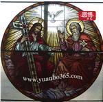 上海圆博工艺专业订制教堂玻璃