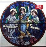 厂家专业定做高档教堂彩色玻璃