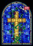 供应精美教堂彩色玻璃