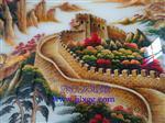 中国十佳艺术玻璃背景墙