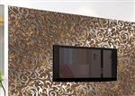 钛金玻璃背景墙