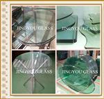 钢化玻璃--茶几桌面
