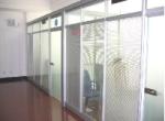 重庆高隔间墙成品玻璃隔断
