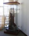 供应45度角超白玻璃展柜