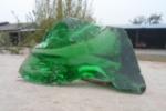 河北科光供应绿色玻璃块