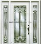 木门铜条镶嵌玻璃