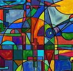 彩绘玻璃价格
