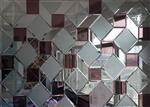 众利达艺术玻璃厂 )5mm茶镜+银镜玉沙+银镜