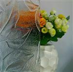 压花玻璃枫叶