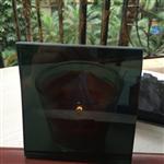 东莞仕创玻璃供应8mm超低透光率黑色玻璃