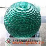 叠层玻璃流水球