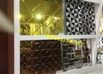 厂家直销-玻璃组合拼镜 艺术磨边镜 酒店门头背景墙