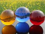 大量批发彩色水晶球