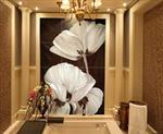 艺术玻璃装饰画冰晶画