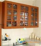 橱柜镶嵌玻璃