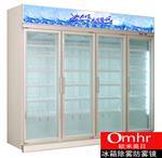 冰箱除雾玻璃门