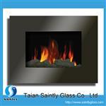 电壁炉玻璃