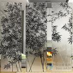 室内艺术玻璃供应安装玻璃门