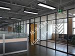 太原厂家玻璃隔断 百叶隔断 钢化玻璃隔断 单层玻璃