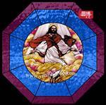 专业定制教堂彩色人物玻璃