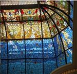 艺术玻璃天花吊顶
