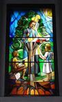 教堂彩绘玻璃.陶瓷打印玻璃..高温uv打印