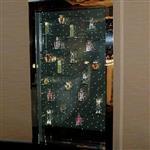 展示柜发光玻璃