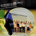供应福州卡西罗水晶同学会纪念品