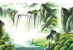 湖北艺术背景墙