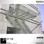 天津安装玻璃雨棚