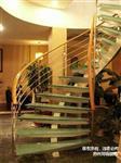 钢玻璃楼梯图片