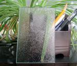 4mm香梨压花玻璃