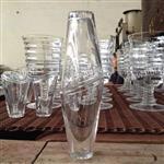 手工生产坡口玻璃杯