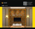 JH-1517 河南巩义优质玻璃背景墙