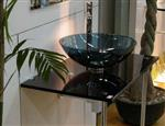 5-12mm黑色玻璃台盆