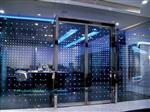 电控LED发光玻璃