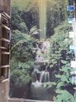 彩釉玻璃背景墙