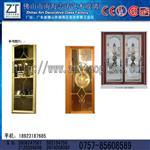铜条镶嵌玻璃门